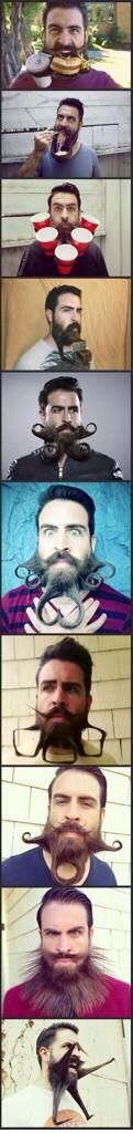 honor of no shave November, crazy beard guy! In honor of no shave November, crazy beard guy!In honor of no shave November, crazy beard guy! Crazy Beard, Epic Beard, Funny Pins, Funny Memes, Funny Stuff, Moustaches, Just For Laughs, Bearded Men, Belle Photo
