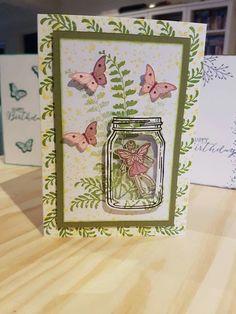 Stampin Up Fairy Celebration Stamp Set
