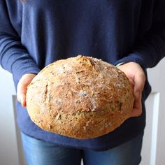 Veggie Recipes, Bread Recipes, Garbage Bread, No Knead Bread, Bread Bun, Multigrain, Vegetarian Cooking, Bagel, Biscuits