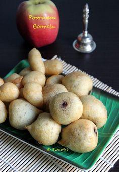 Poornam boorelu recipe | How to make poornalu | Burelu recipe