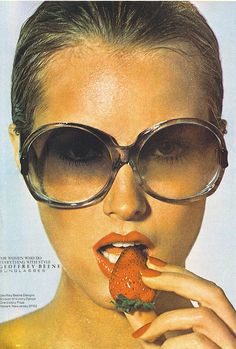 fd00c1f13b geoffrey beene sunglasses ad-vogue june 1977 Geoffrey Beene was distributed  by Viva Eyewear