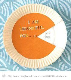 Thankful pin wheel