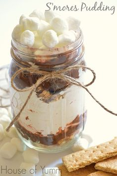 S'mores Pudding @HouseofYumm