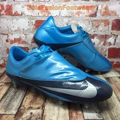 promo code 6a6d8 b4183 Nike Mens Mercurial Vapor Football Boots Blue sz 12 SG Soccer Cleats US 13  47.5
