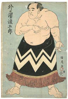 【国虎「相撲絵」】の商品詳細。