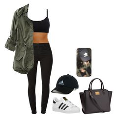 """""""Fall"""" by caressaharris ❤ liked on Polyvore featuring adidas, adidas Originals and 7 For All Mankind"""