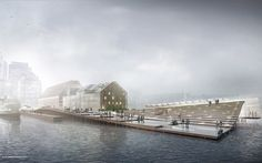 Wharf Design: Foggy Morning Perspective: Part 1