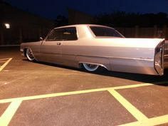 Bagged 1966 Cadillac Coupe Deville