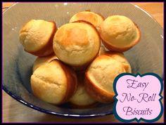 Utah Munchies: Easy No-Roll Biscuits