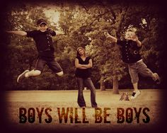 mother and sons photography boys will be boys