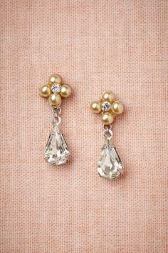 Boronia Drops in Bride Bridal Jewelry at BHLDN