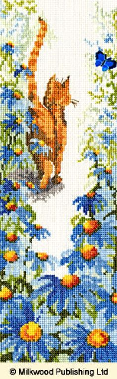 Follow Me 1 Cats Cross Stitch Kit From Bothy Threads