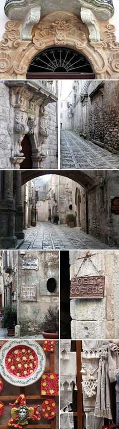 Walking in #Erice. Don't choose the main streets but get lost in the secondary alleys, look the towers from another point of view and enjoy this strange medieval town, which let its light shine in #spring and #fall. It's just 10 minutes from #Trapani. To know more have a look at #B&B Belveliero bebtrapanilveliero.it