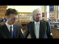 Barry Gibb on ITV news - YouTube