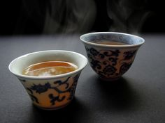 https://flic.kr/p/9MTEzh | Gong fu cha tea cups | Steam and shadow