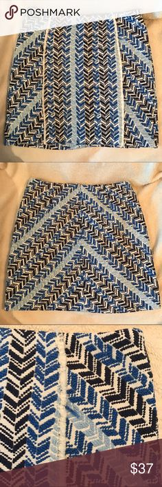 NWT Mango Tweed Skirt NWT Mango tweed skirt Mango Skirts