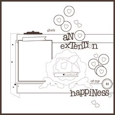 An Extension of My Happiness | Danielle Flanders  basic grey