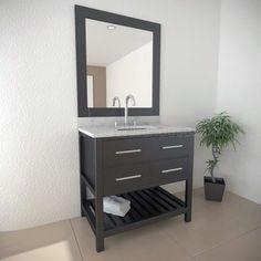 DEC077A Single Bathroom Vanity