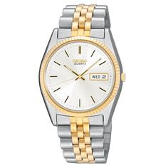 Seiko Core Men's Watch / SGF204 / Day/Date Calendar LumiBrite hands and marker,  30M water resistant | MSRP: $295 | SALE Price: $221.25  | Available at Andrew Gallagher Jewelers, Newark, DE (302) 368-3380.