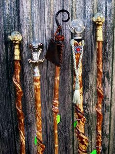 Wizard Staves | Wizard Staff by bearpawsticks on Etsy