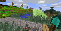And with house, here comes the garden /minecraft
