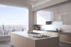 What is it look like to live in a $95-million apartment in Manhattan | Kitchen