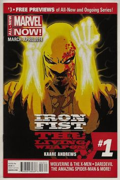 All-New Marvel Now Previews #3 NM 9.4 Marvel 2014 Iron Fist Kaare Andrews