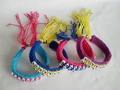 via Etsy. Costume Contest, Favorite Words, Colorful Bracelets, Headpiece, Crochet Earrings, Make It Yourself, Etsy, Jewelry, Fall