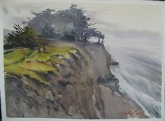 The pleasure of painting plein air | Frank Eber: Watercolor Landscapes