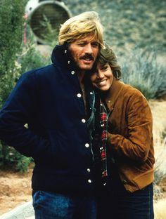 Robert Redford and Jane Fonda, The electric horseman, 1979