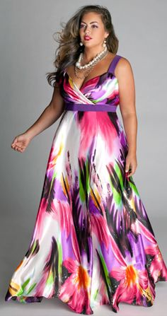 Tropical Beauty Dress