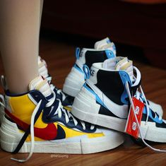 purchase cheap 52bb4 a465f Nike And Sacai Gear Up For Blazer With The Dunk Launch in February 2019