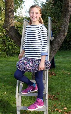 "#Joules ""Laura"" Kinder #Shirt, ""Lizzy"" #Rock & ""Emilia"" #Leggings - Wikimo Kindermode"
