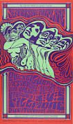 Image result for 60s music posters type
