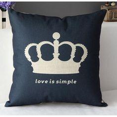Throw Pillow Covers | Black Love is Simple | UniikStuff