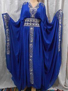 DUBAI ABAYA KHALEEJI,FREE SIZE MAXI DRESS,GALABEYA,COSTUME,THOB,GOWN