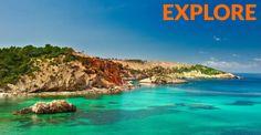 Por fin es Viernes! Disfruta del fin de semana explorando #Ibiza...Nosotros te aseguramos que lo haremos. Que la #aventura te acompañe. #IntoTheWild #explore #trekking, #kayak, #CrossCountry, #escalada, #mountainBike, #SUPpaddle