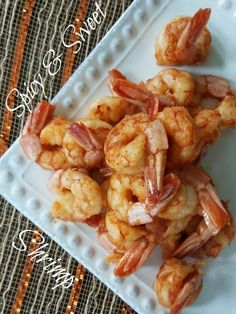 Need a delicious appetizer or meal quick? This Sweet & Spicy Shrimp is ready in just minutes and is full of flavor. Enjoy this Sweet & Spicy Shrimp Recipe.