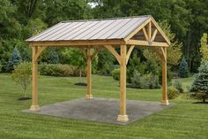 The pergola kits are the easiest and quickest way to build a garden pergola. There are lots of do it yourself pergola kits available to you so that anyone could easily put them together to construct a new structure at their backyard. Curved Pergola, Backyard Gazebo, Pergola Swing, Pergola With Roof, Outdoor Pergola, Wooden Pergola, Pergola Shade, Pergola Plans, Diy Pergola