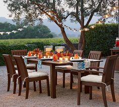 Set the scene for Al Fresco dining.