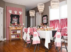 oreo party decorations | Modern Italian Little Chef Pizza Party // Hostess with the Mostess®