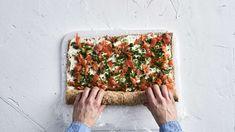 Voileipäkääretorttu   Kakut   Yhteishyvä Savoury Baking, Plastic Cutting Board, Food And Drink, Eat, Cooking, Kitchen, Henna, Summer, Food