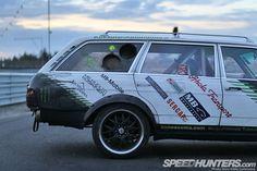 Diesel Fury: The Black Smoke Wagon - Speedhunters Mercedes Benz 300, Drifting Cars, Midnight Sun, Black Smoke, First Car, Diesel, How To Memorize Things, Van, Fresh