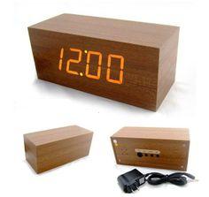 12 Cool Alarm Clocks Ideas Alarm Alarm Clock Clock