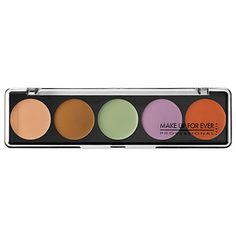 5 Camouflage Cream Palette Color Correct & Concealer - MAKE UP FOR EVER | Sephora