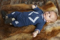 Nordic style baby fashion from Danish label Mini a Ture for baby's first Christmas outfit