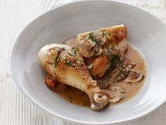 Chicken Chasseur (Hunter-style Chicken) Recipe : Bobby Flay : Food Network - FoodNetwork.com