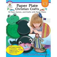 Paper Plate Christian Crafts Gr K3 * Continue to the product at the image link.