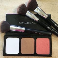 Powder, Bronzer, and Blush all in one handy pallet. LimeLight by Alcone Beauty Guide, Beauty Hacks, Alcone Makeup, Lime Light By Alcone, Baby Skin Care, Finishing Powder, Natural Cosmetics, Professional Makeup, Bronzer
