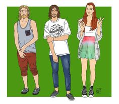 Modern Hobbit Characters by Kaye Magistro - TheMI6Files